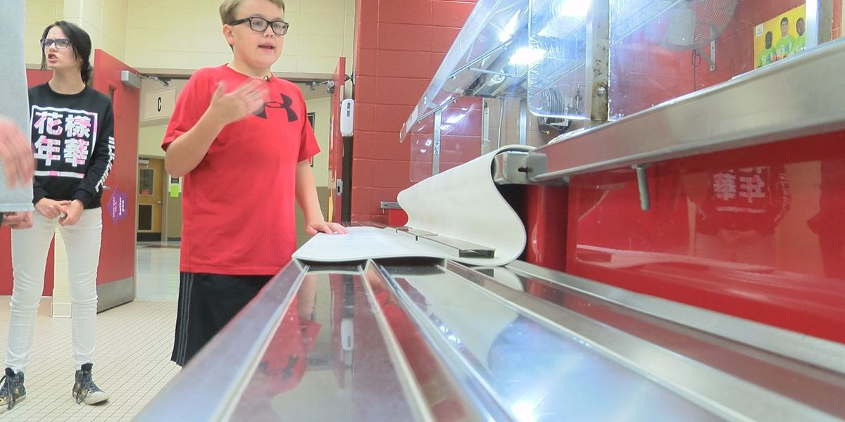 Students explore environmental friendly options for school cafeteria