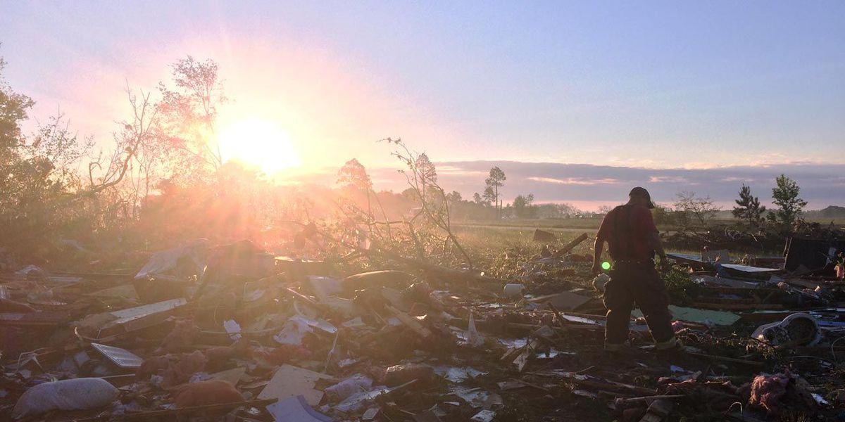 EF-2 tornado confirmed in Calhoun Co.