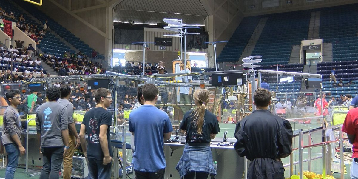 High school robotics competition kicks off in Albany