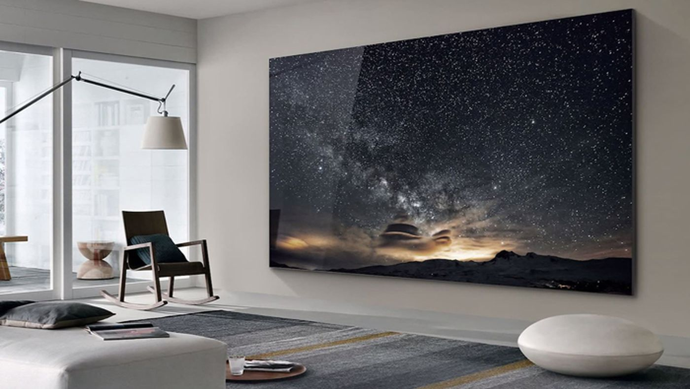Samsung Goes Big With 219 Inch Tv At Ces