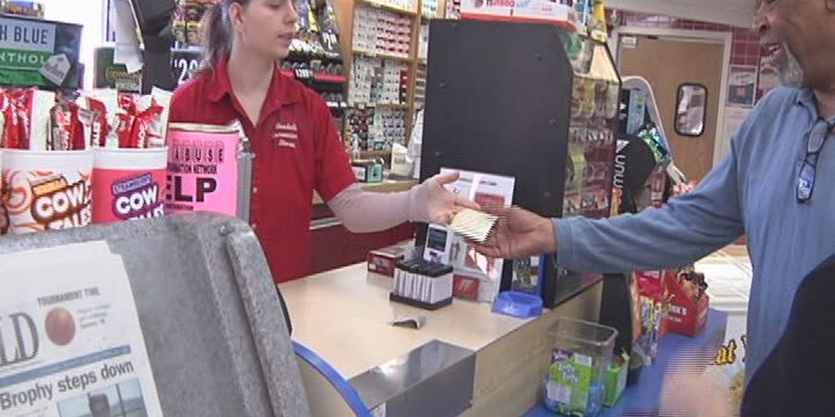 Folks rush to stores to buy lottery tickets