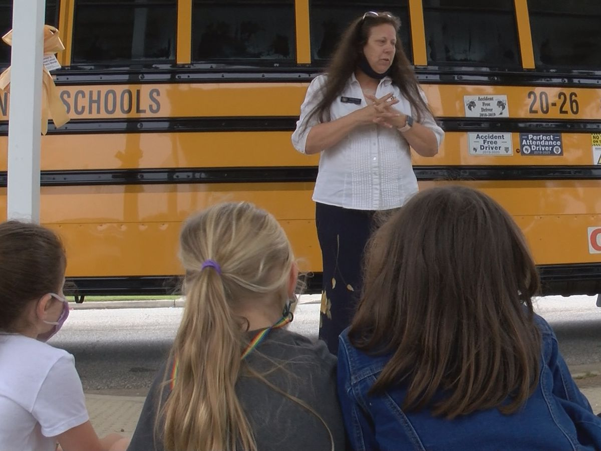 Thomas Co. School System teaches about school bus safety this week