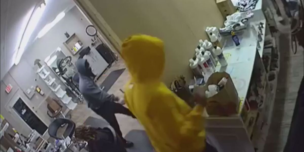 Police search for Albany armed robbery suspects, release surveillance video