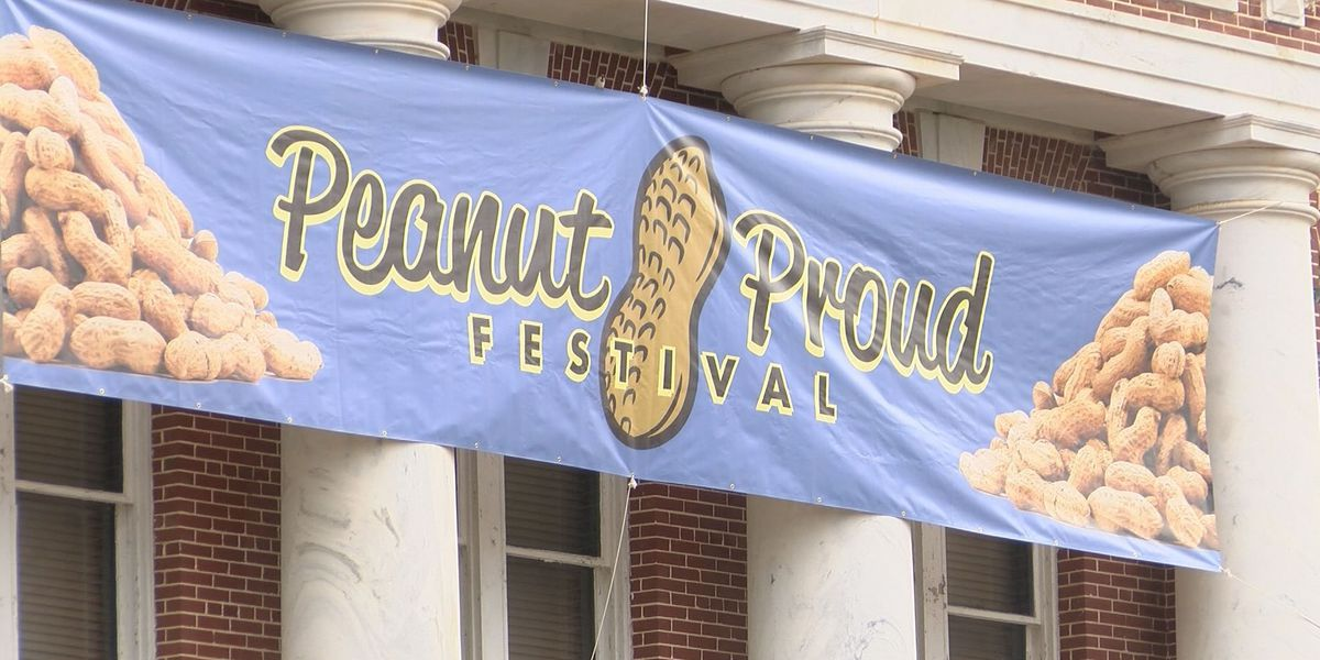 Blakely gets prepped for Peanut Proud Festival