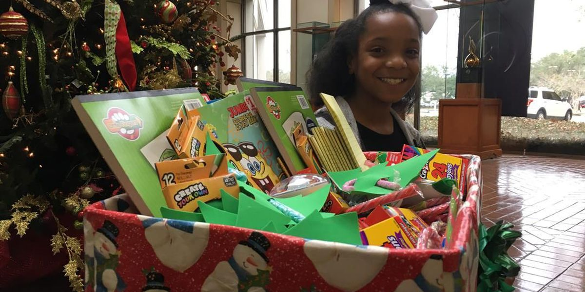 Americus girl donates toys to kids in hospital for Christmas