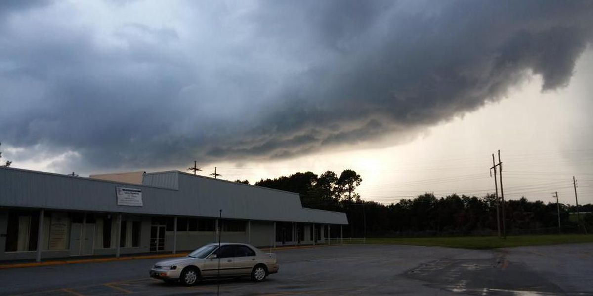 Storms drop hail, cause power outages