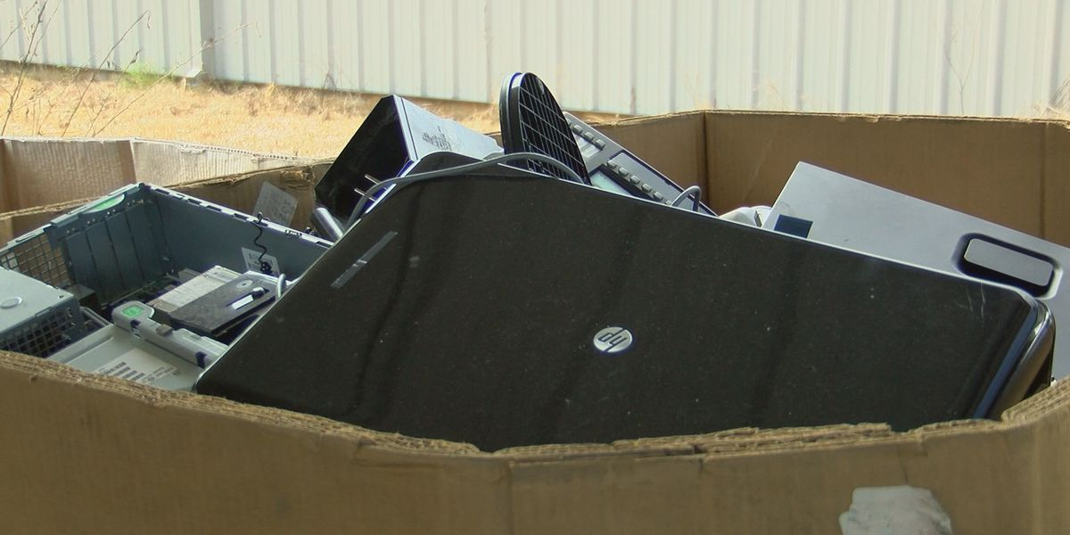KADB staff urge you to recycle unwanted electronics