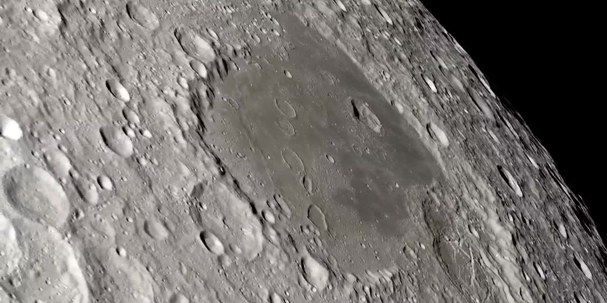 NASA gives 3D view of moon from POV of Apollo 13 crew