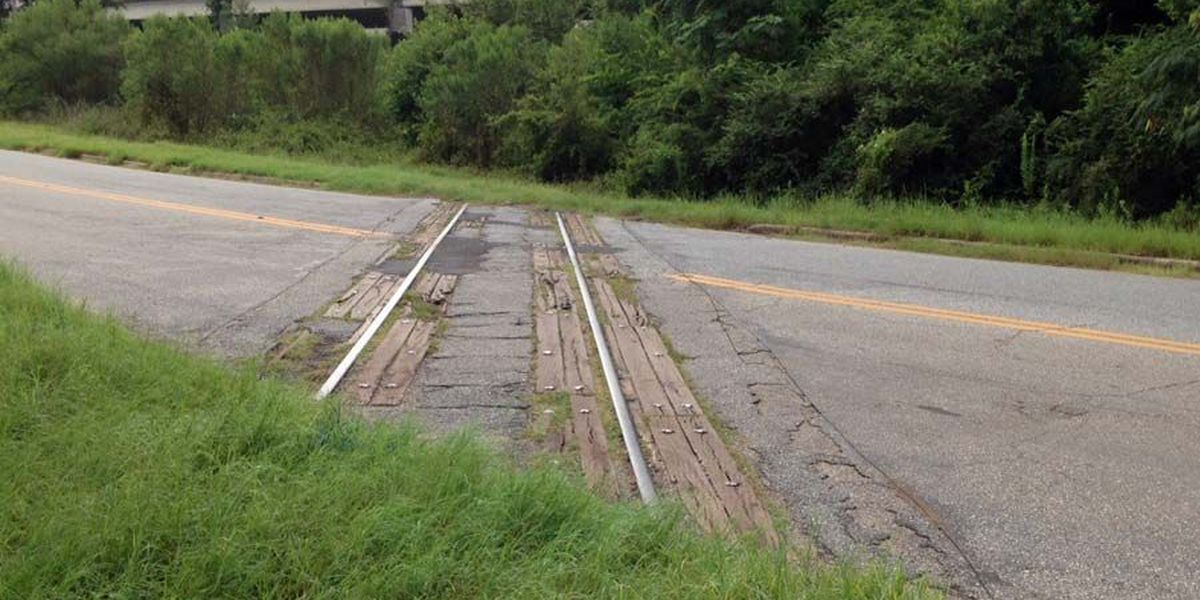 Sign of the times: Railroad tracks will be pulled up