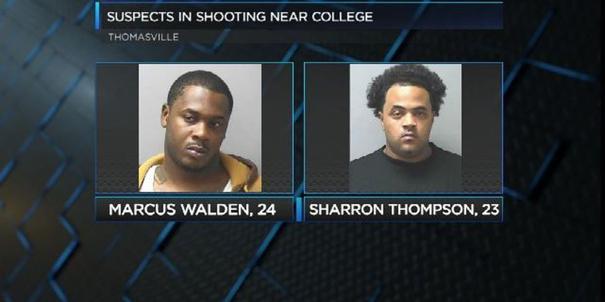 Officials identify suspects in shooting near Thomas University