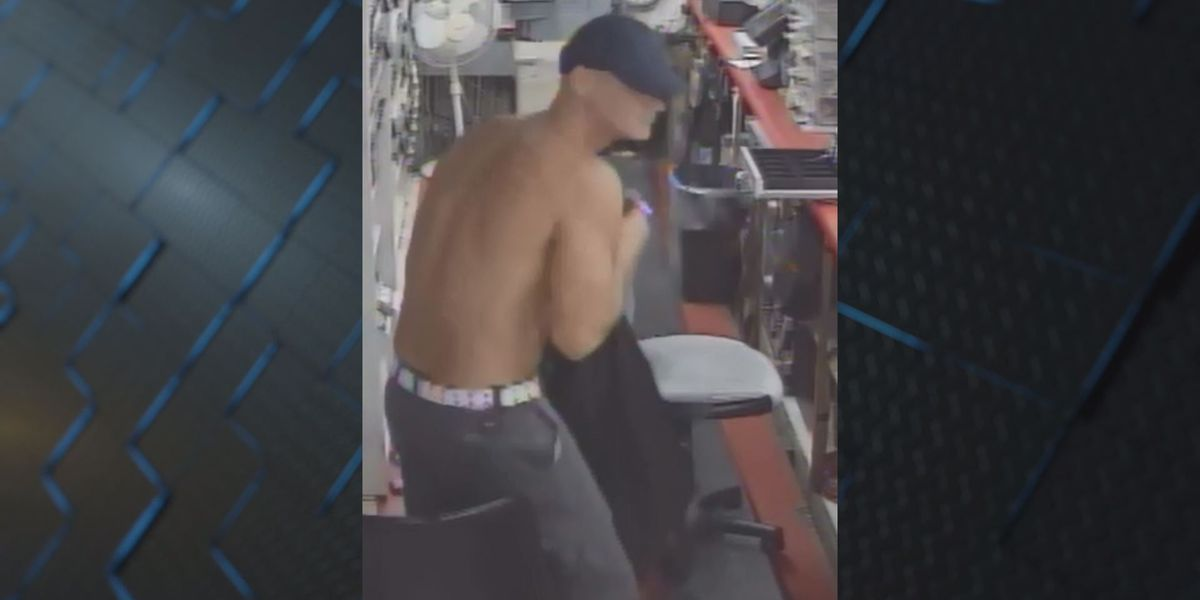 Suspect caught on camera during Thomasville liquor store burglary