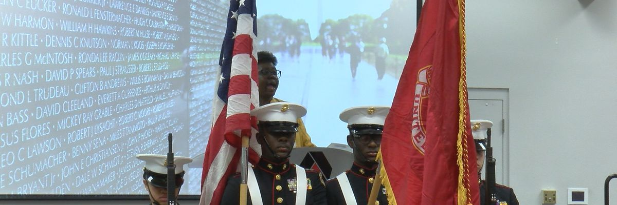 Albany Tech celebrates Veterans Day early in special ceremony