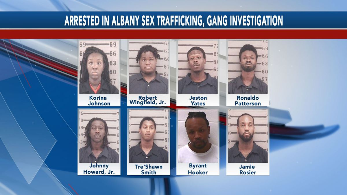 GBI: Victim is safe after 8 charged in Albany sex trafficking, gang investigation