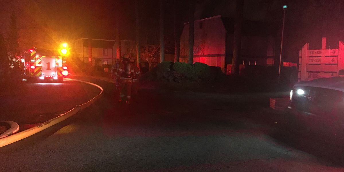 Albany crews respond to fire at apartment complex