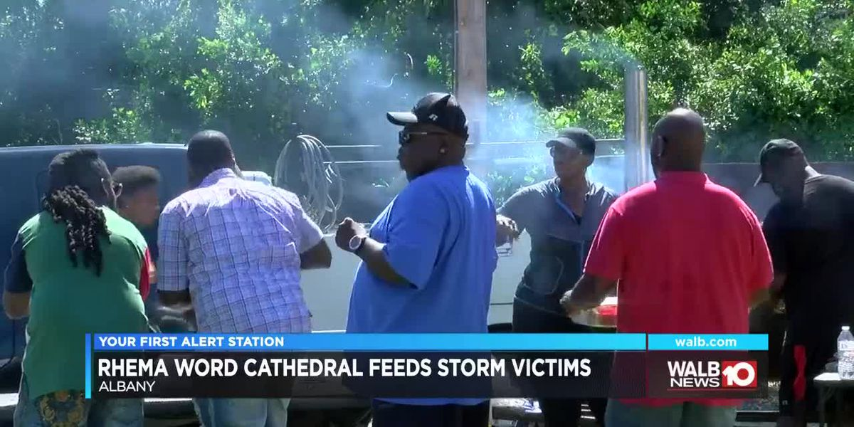Rhema Word feeds storm victims and seniors