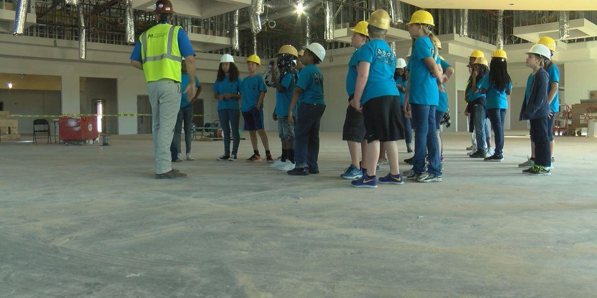 Valdosta STEM students tour developing high school