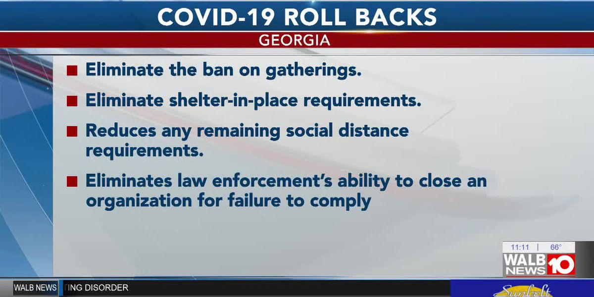 ICYMI: Gov. Kemp's order to relax COVID restrictions goes into effect