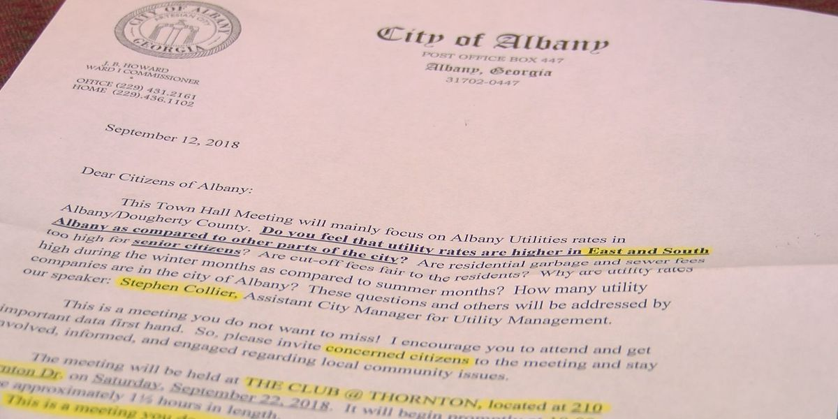 Albany town hall to be held to educate residents on utility bills