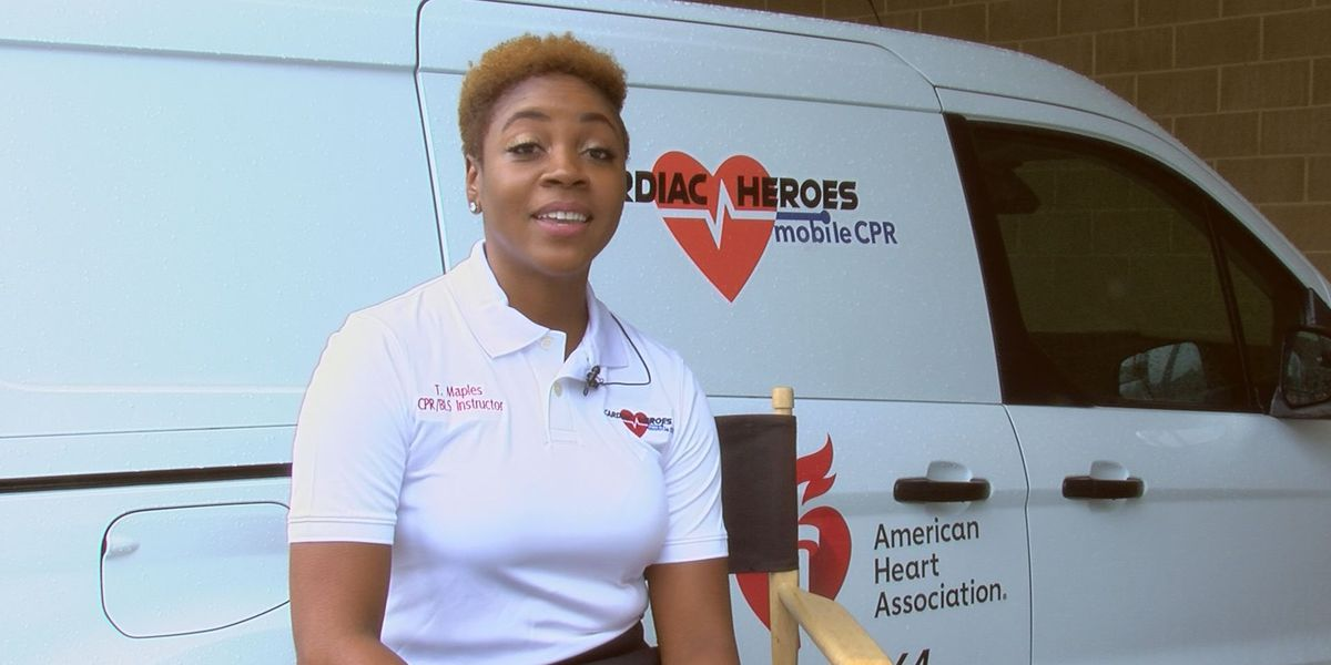 Former Albany firefighter starts mobile CPR unit