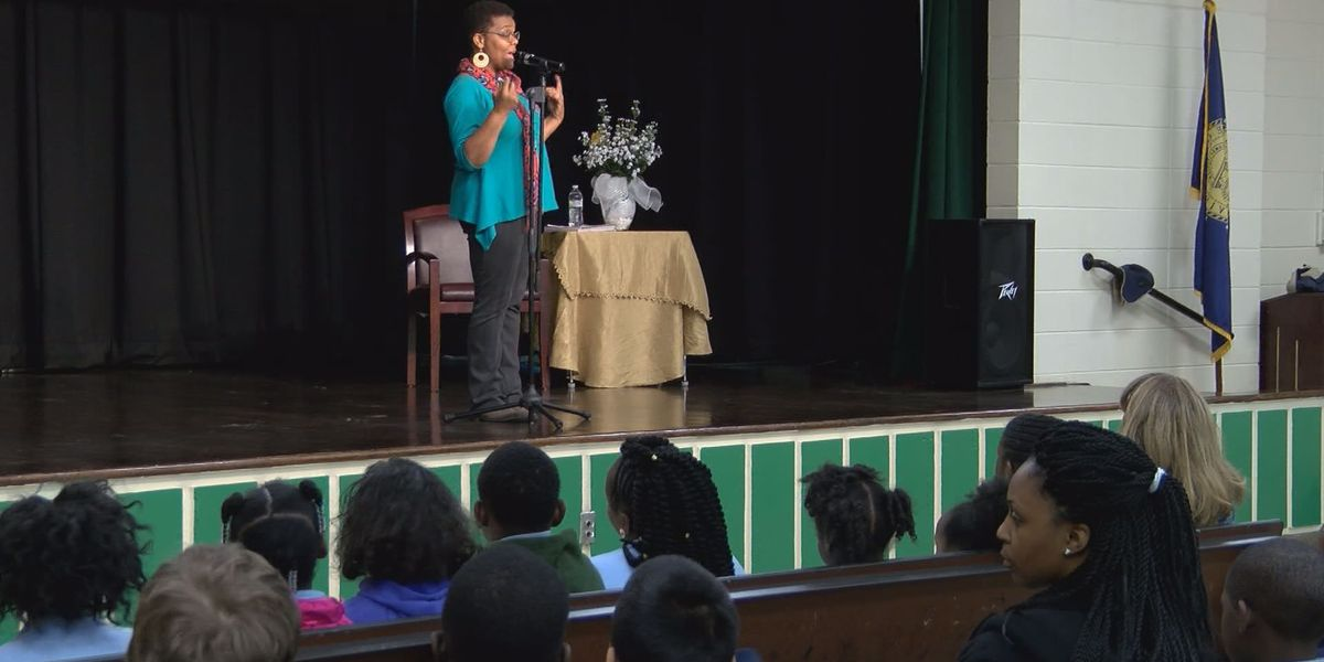 Albany students get a special visit