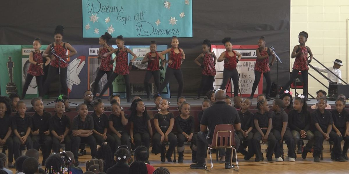 Students learn about history through song and dance