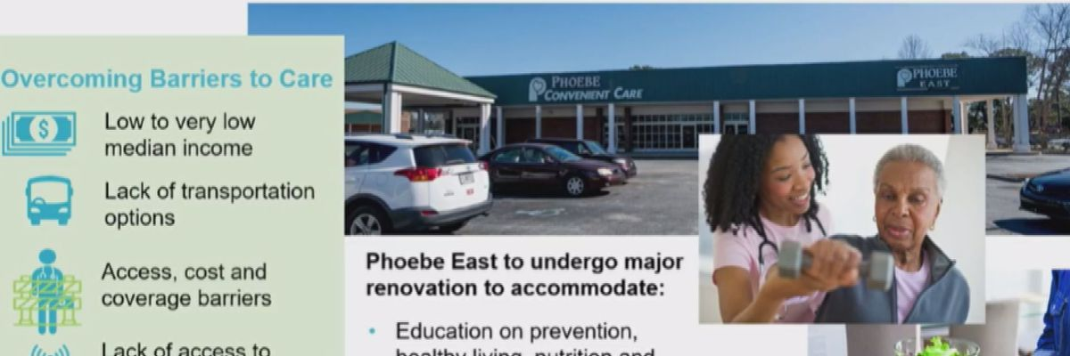 Phoebe to launch and finish new projects and improvements