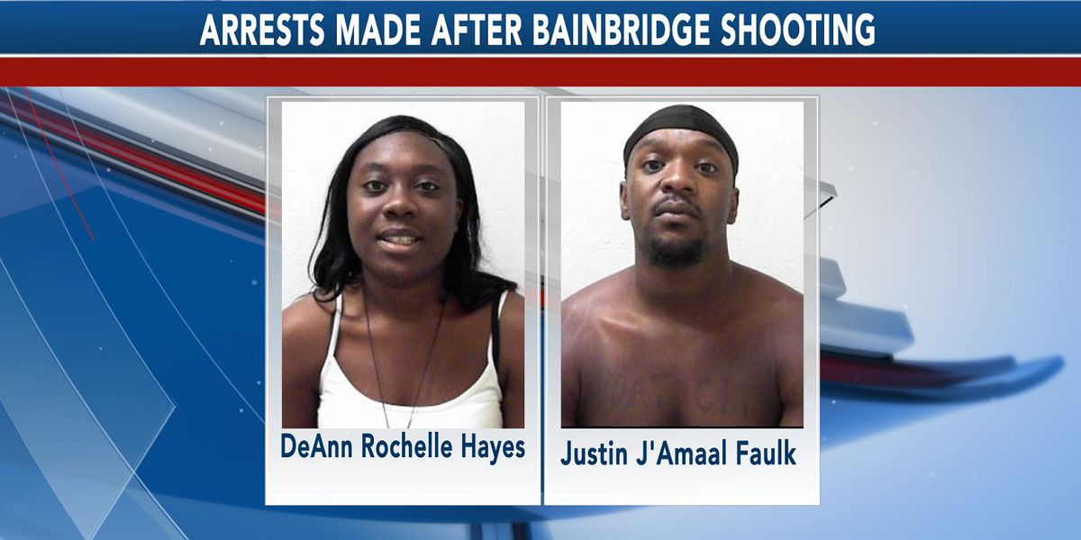 UPDATE: 2 other suspects arrested, 1 remains wanted in Bainbridge shooting