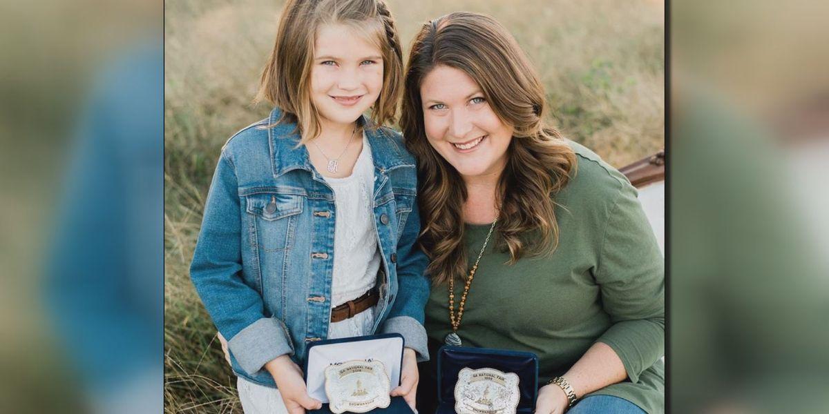 Mom, daughter win showmanship awards at GA National Fair, 20 years apart