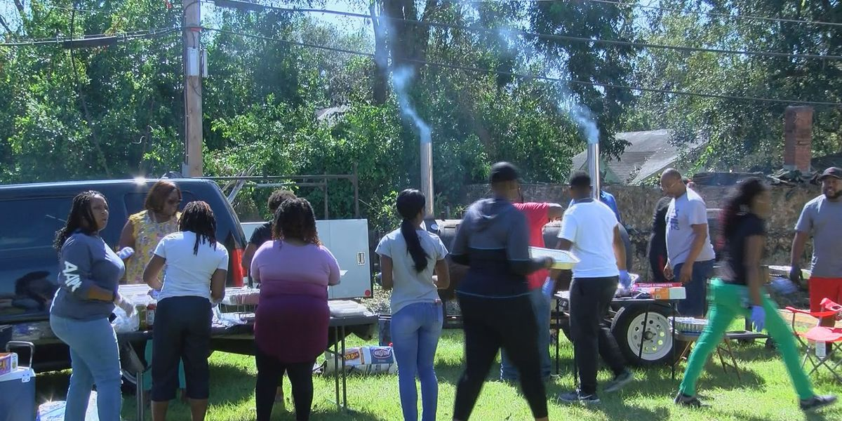 Rhema Word Cathedral feeds for Hurricane Michael victims