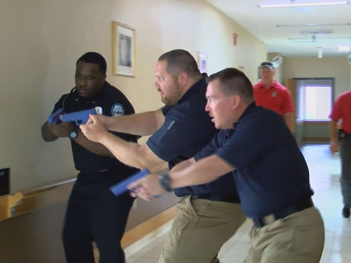 Thomas Co., Thomasville lawmen sharpen sights in active shooter training