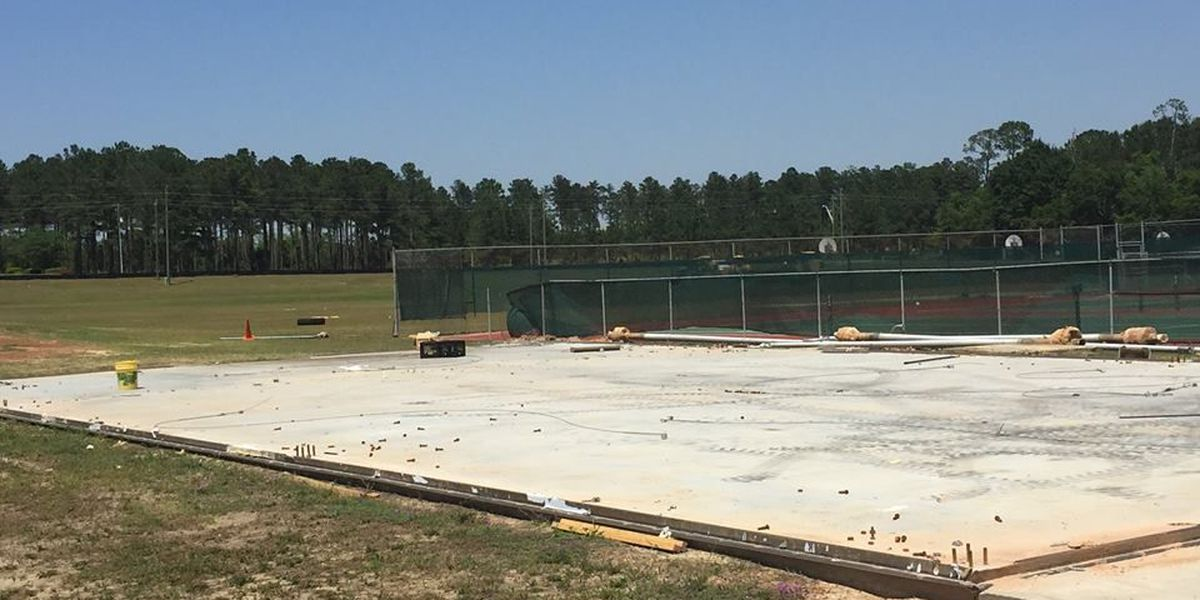 Construction under for new Worth Co. High School