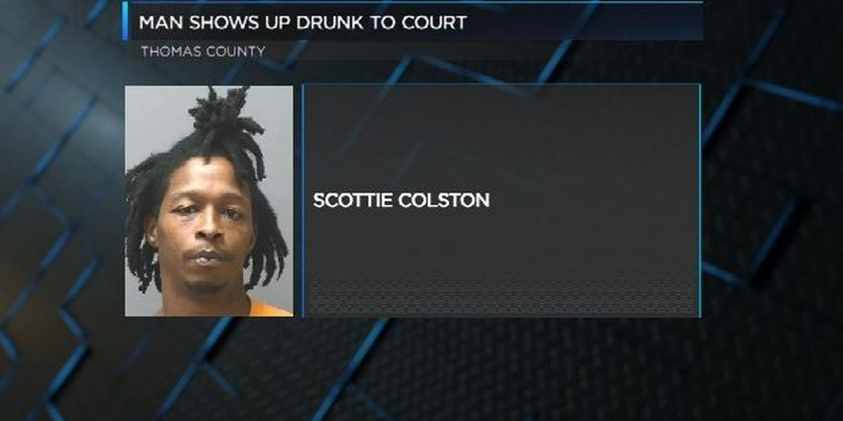 Thomas Co. man shows up to court drunk