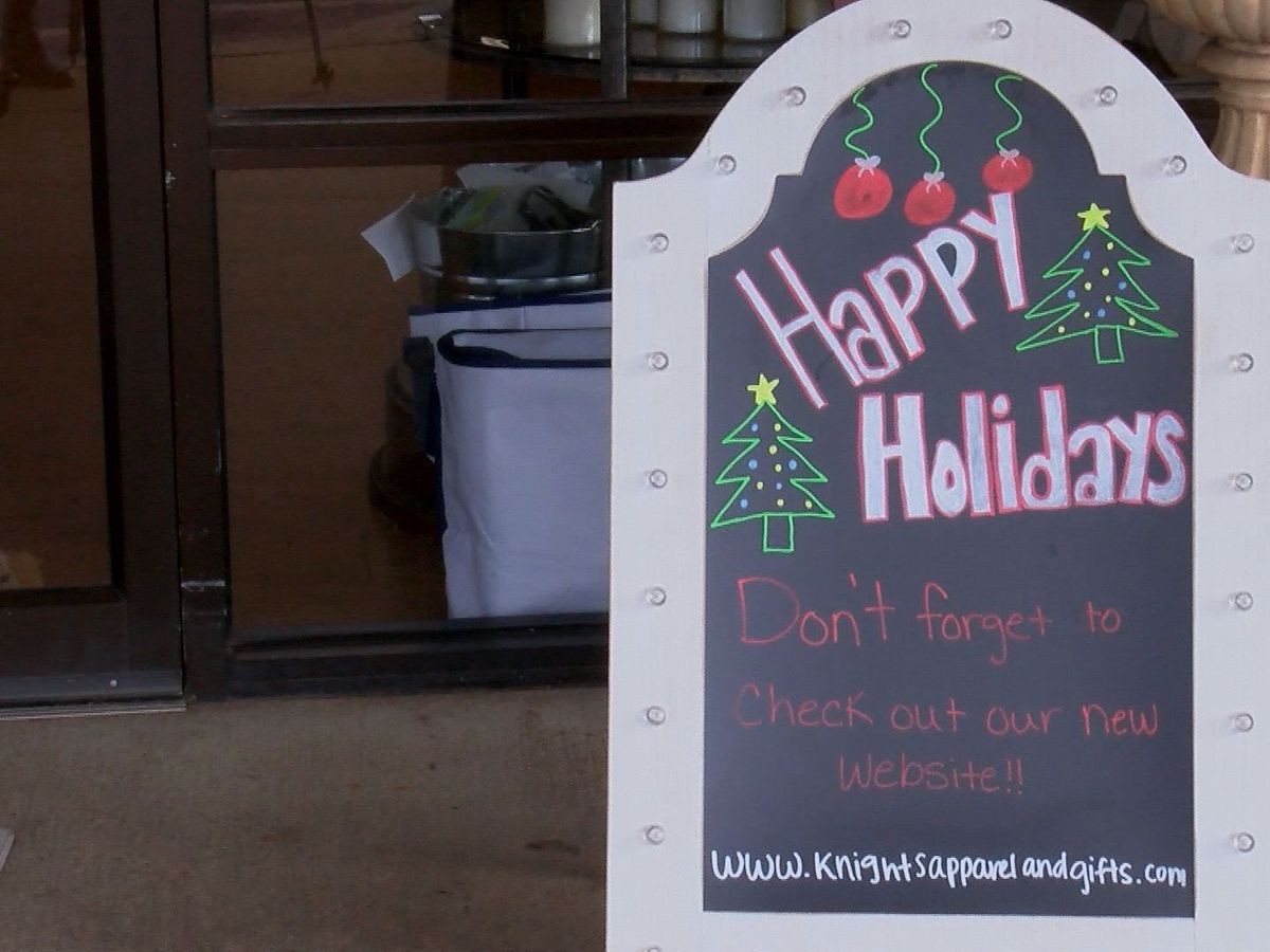 Small businesses change operations for COVID-19 Christmas season