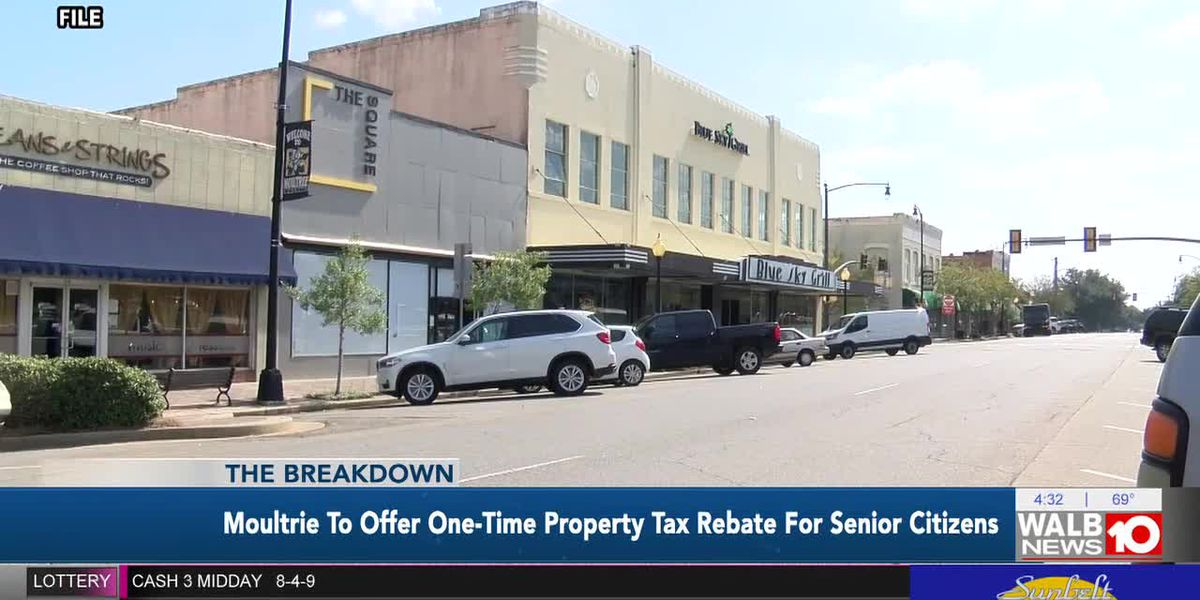 The Breakdown: Moultrie to Offer One-Time Property Tax Rebate for Senior Citizens