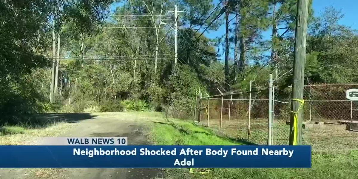 Adel neighborhood shocked after body found nearby