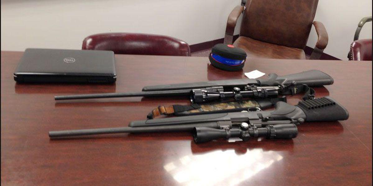 Three burglary arrests in Lee County