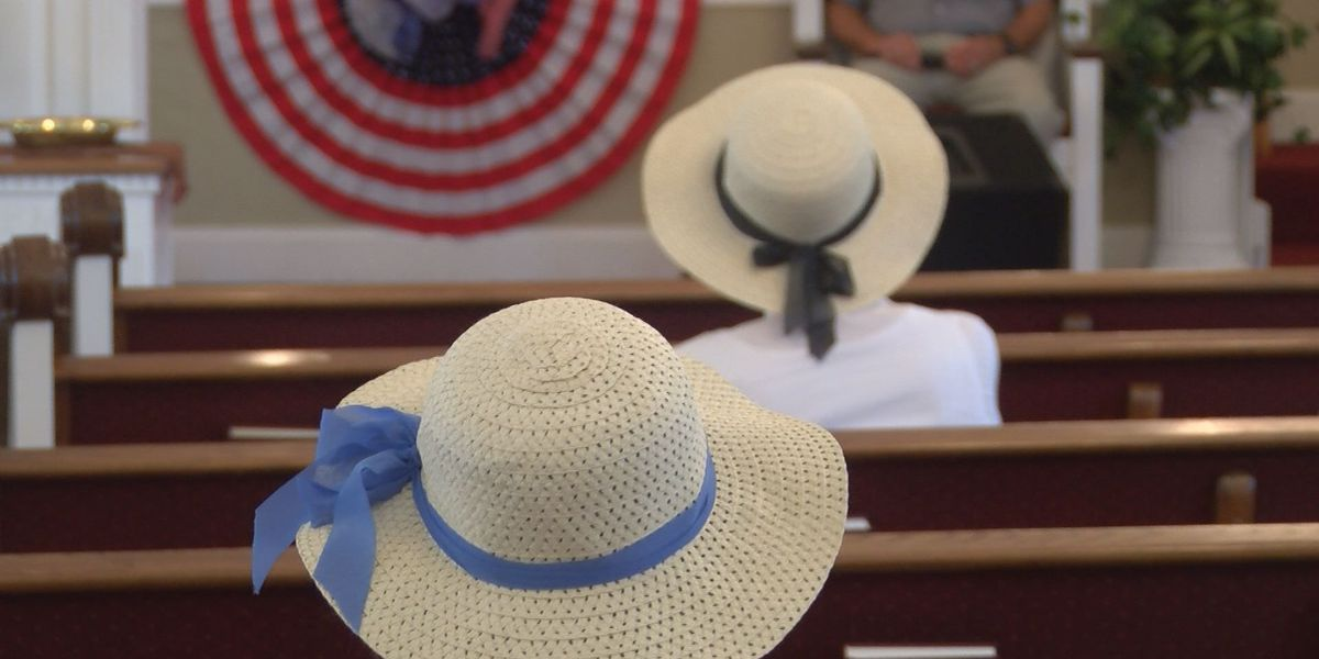 Church hosts old fashioned Independence Day service