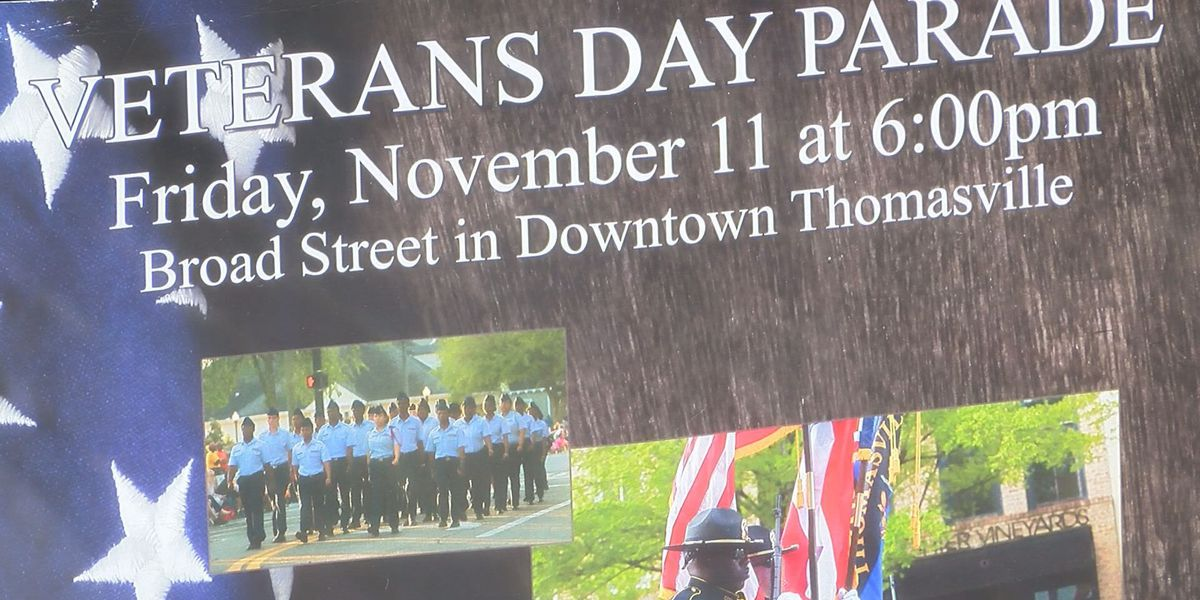 Thomasville brings back the Veteran's Day Parade