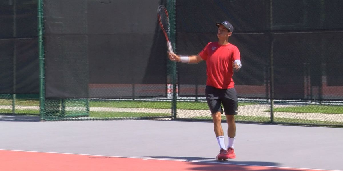 VSU Men's tennis returns from regionals after claiming GSC title