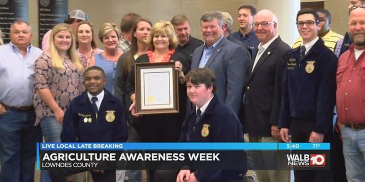 Lowndes Co. celebrates Agriculture Awareness Week