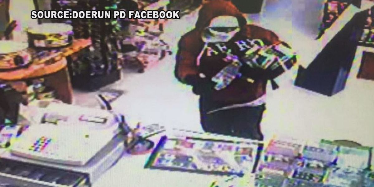 Doerun Police search for smash and grab suspect
