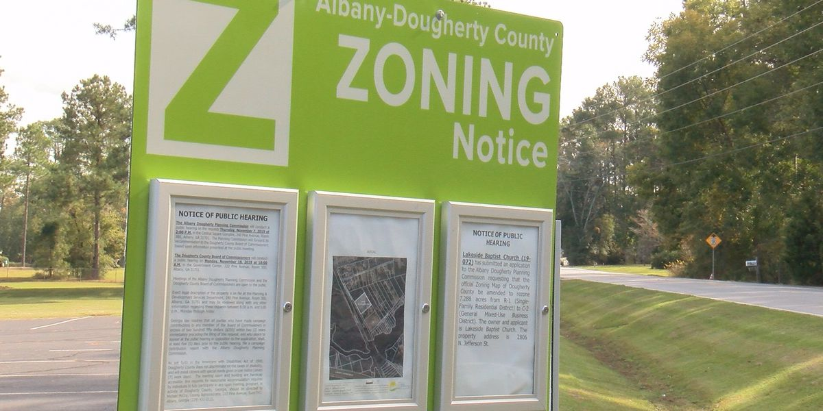 2 new zoning cases may affect you in Dougherty Co.