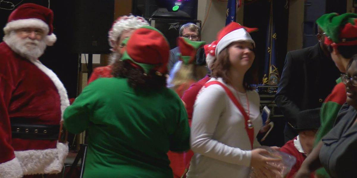 Christmas party for people with disabilities is a long time tradition