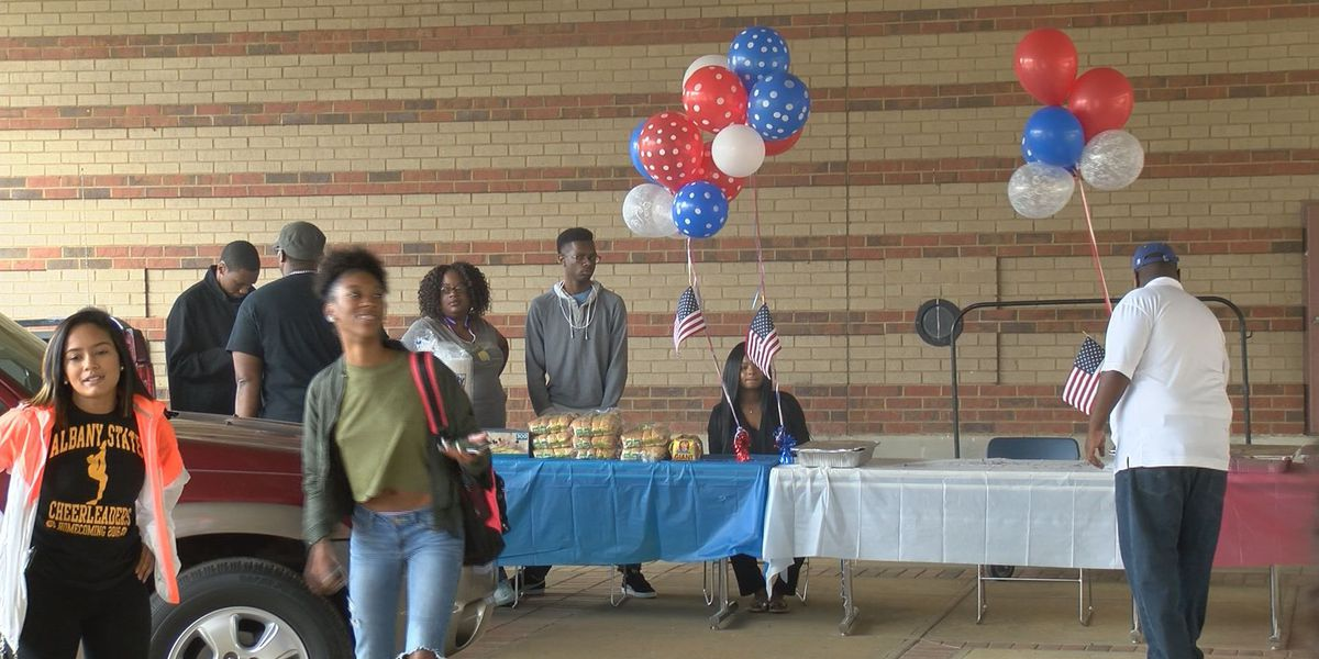 ASU students celebrate their right to vote