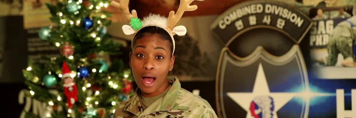 Military Greetings From U.S. Army Cpt. Laquoya Diggs