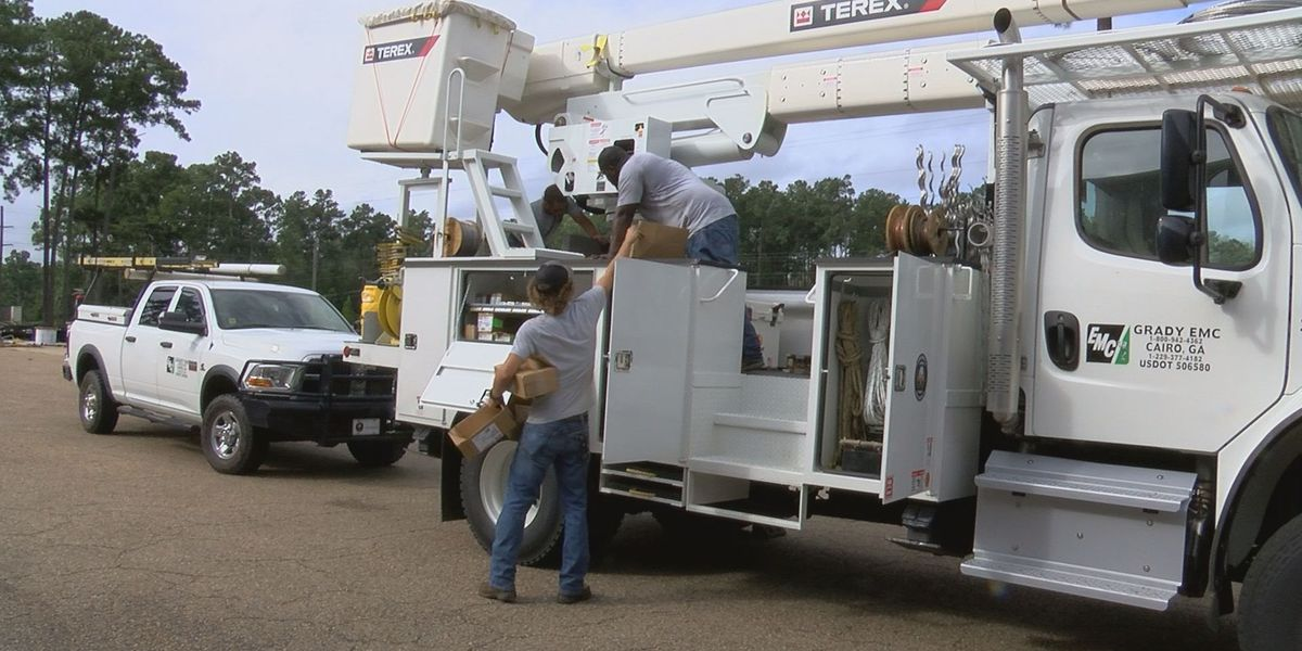 Grady Co. linemen prep for power outages
