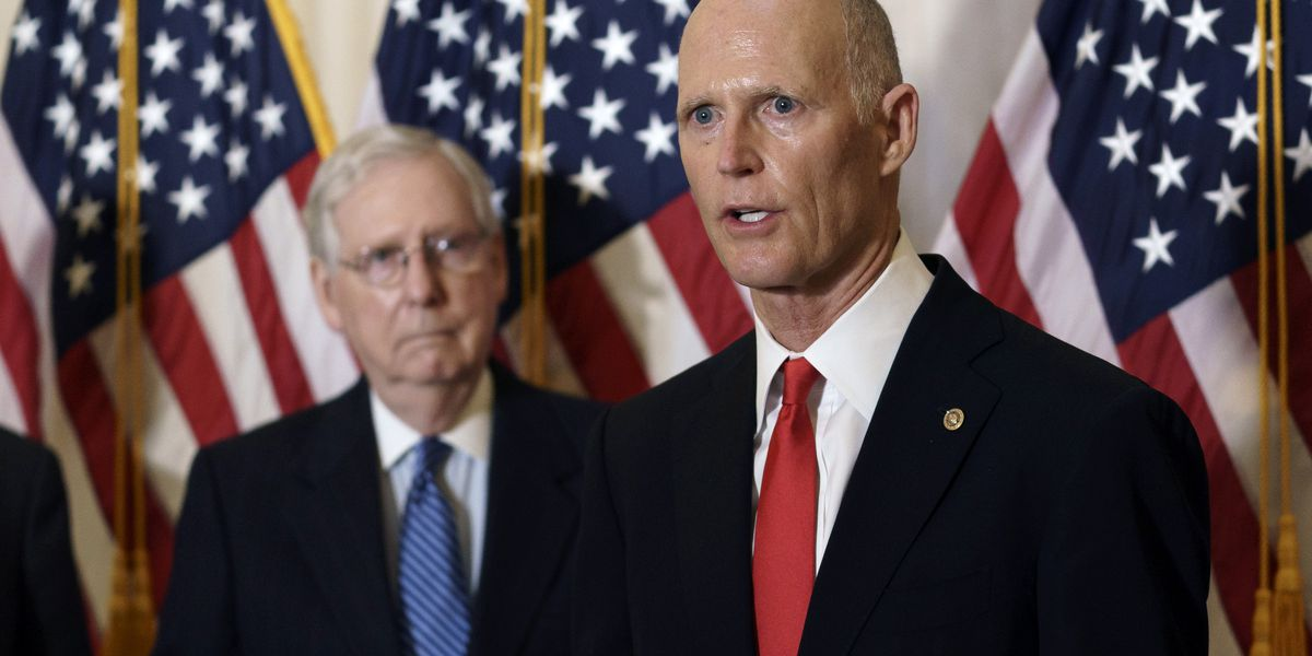 Florida's Sen. Scott has coronavirus, 'very mild symptoms'