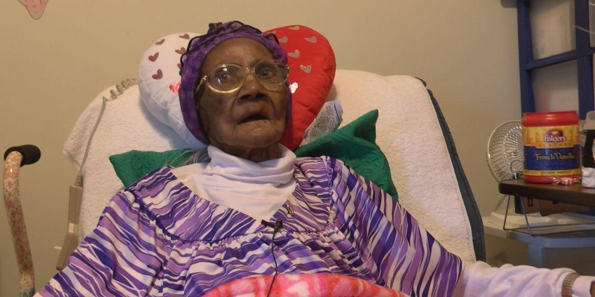 Thomasville police surprise woman on 104th birthday
