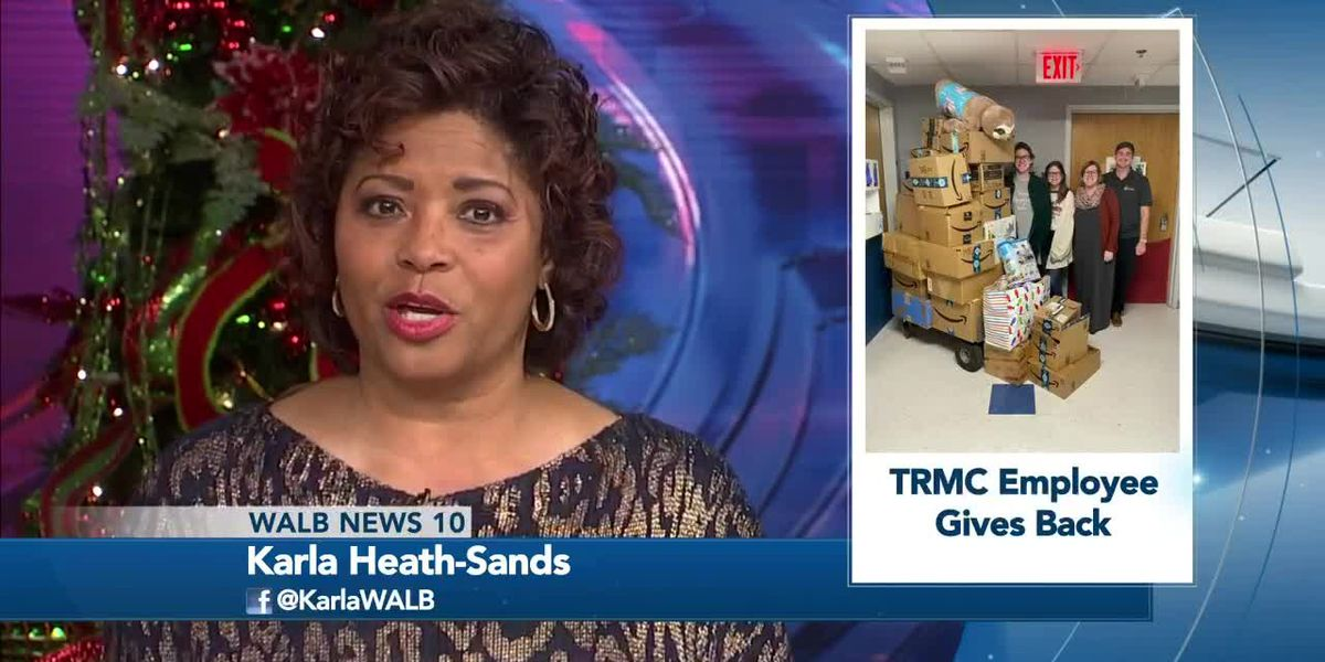 Good News: Tift Regional Employee Donates Gifts
