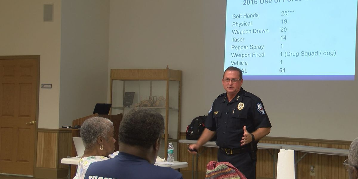 Thomasville Police hold Community Unity Meeting